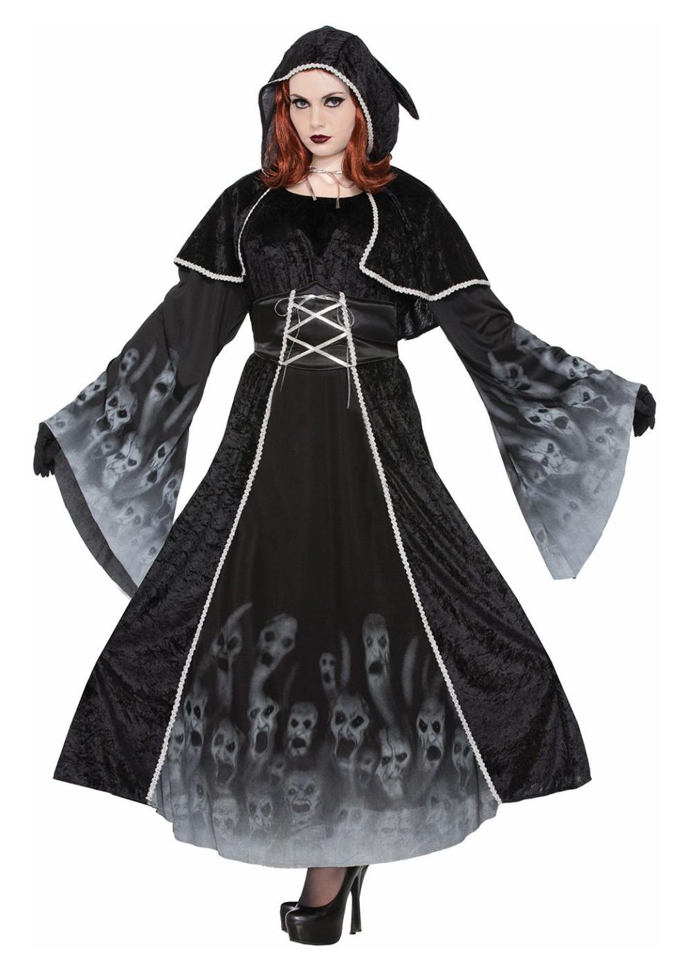 267498212 Forsaken Souls Women Plus size Costume - Scary Costumes