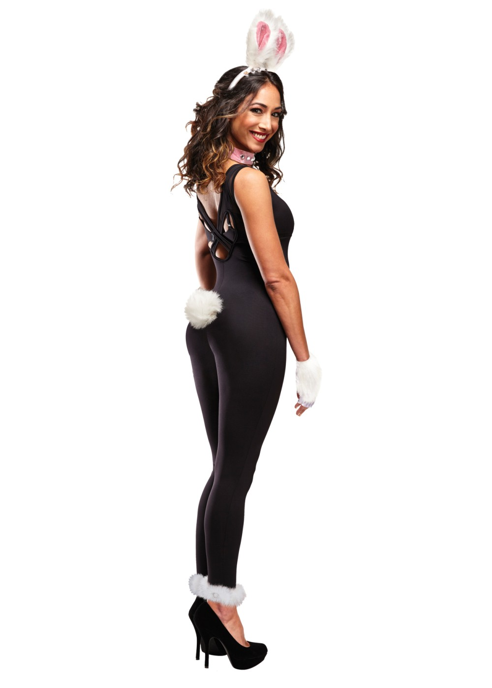 Furry Bunny Instant Costume Women Kit Animal Costumes