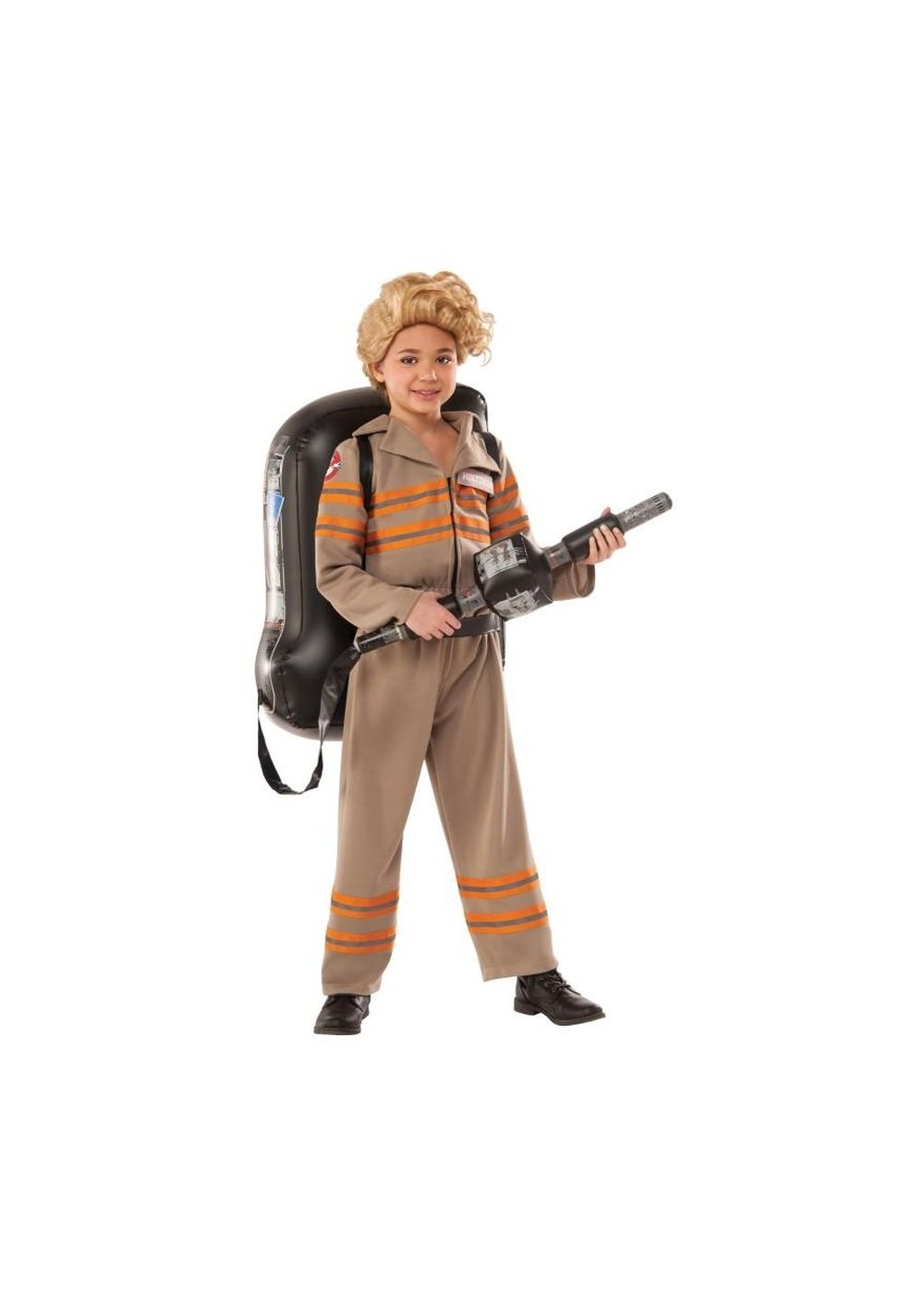 Kids Ghostbusters Movie Deluxe Girls Costume