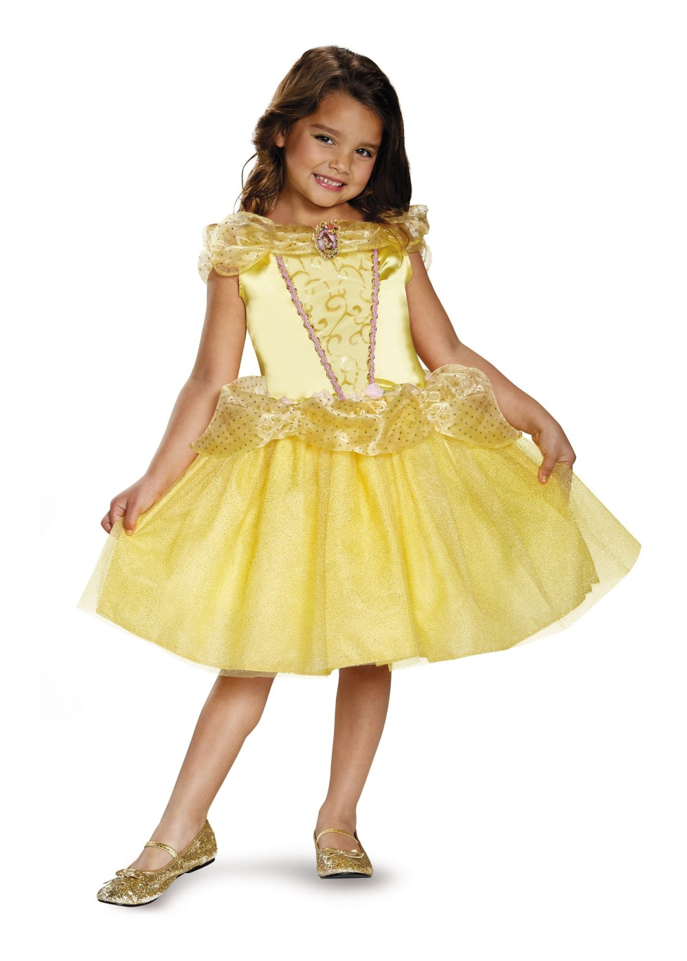Kids Girls Belle Classic Costume