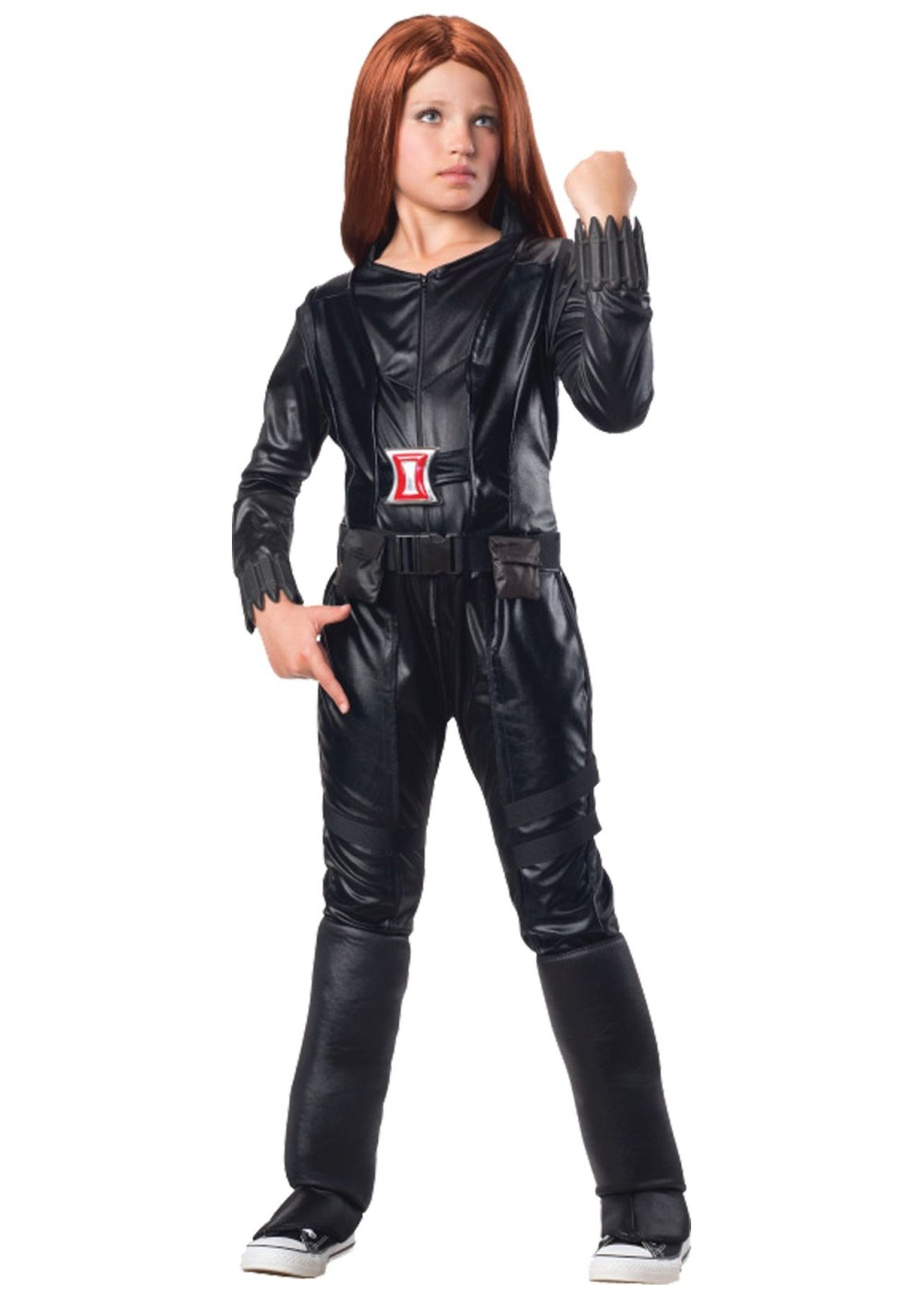 Girls Marvel Black Widow Costume