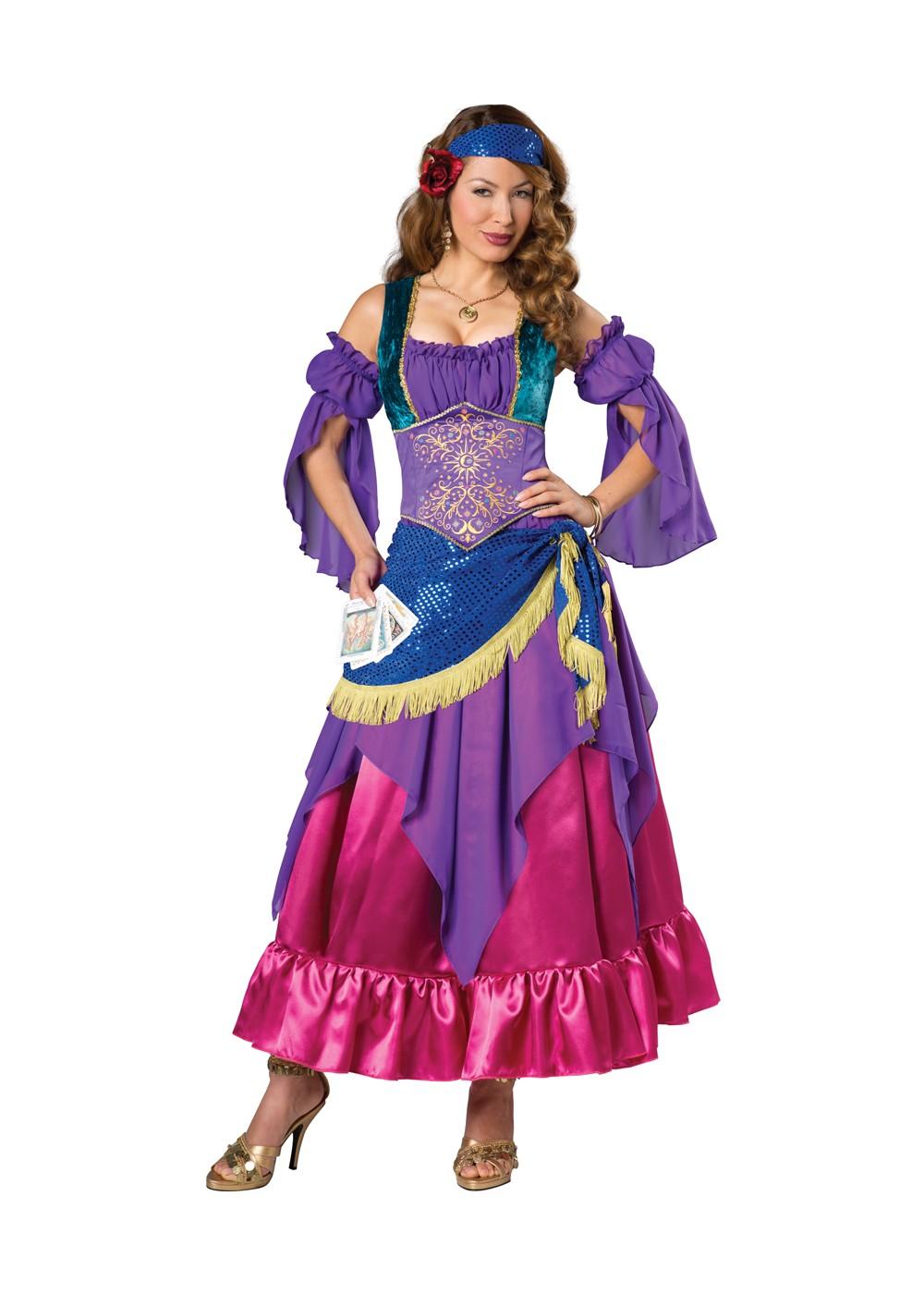 Gypsy Treasure Woman Costume - Renaissance Costumes-2576