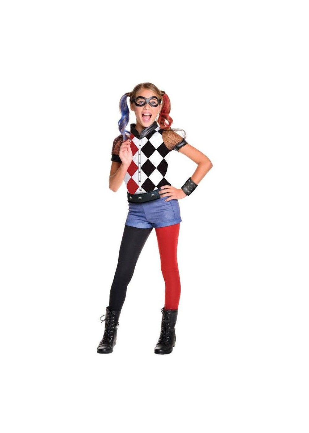 Kids Harley Quinn Girls Costume Deluxe