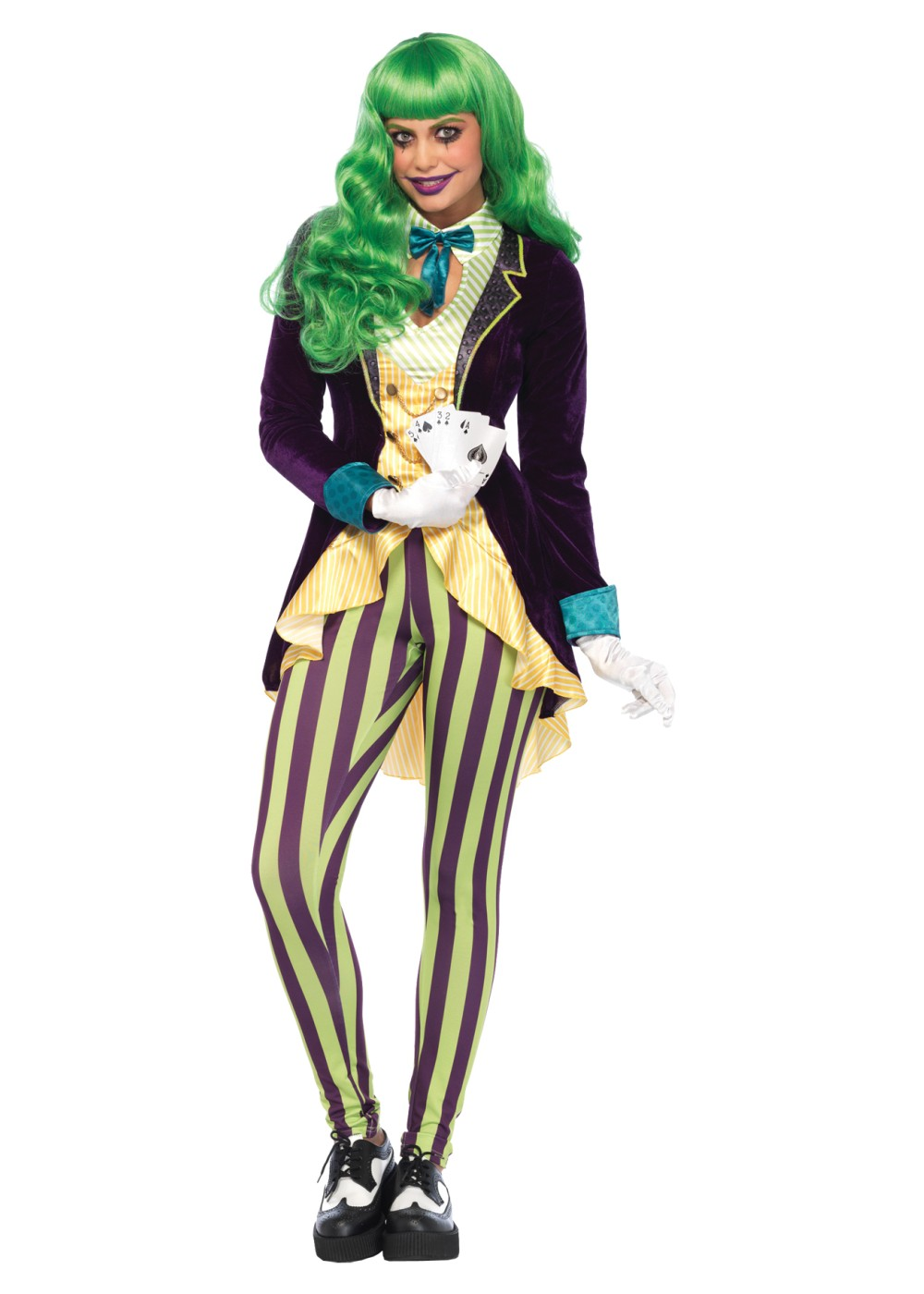 Joker Wicked Trickster Women Costume Movie Costumes