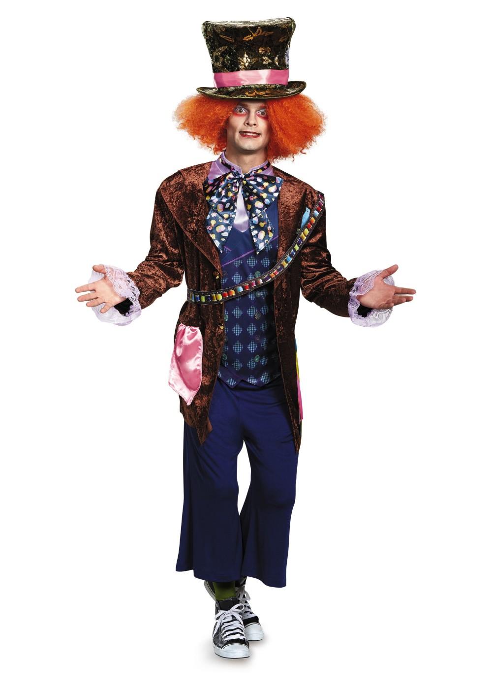 Mad Hatter Men Costume - Movie Costumes-3540