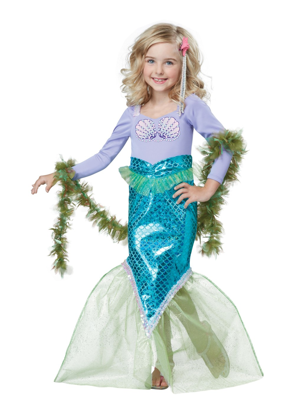 Kids Magical Mermaid Toddler Costume