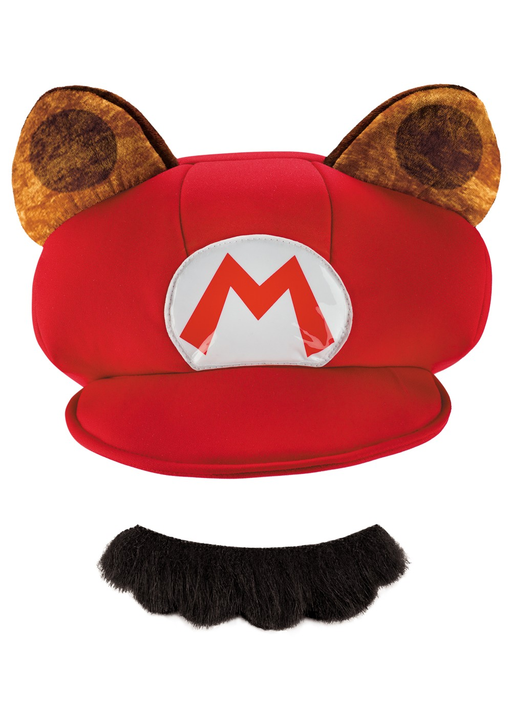 Mario Raccoon Hat And Mustache