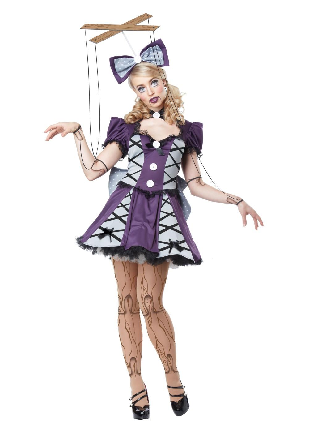 marionette women costume funny costumes. Black Bedroom Furniture Sets. Home Design Ideas