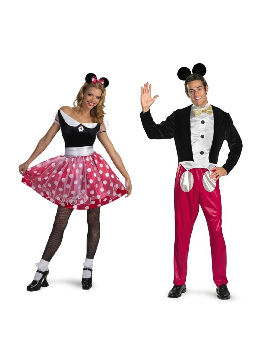 Mickey And Minnie Mouse Couples Costumes