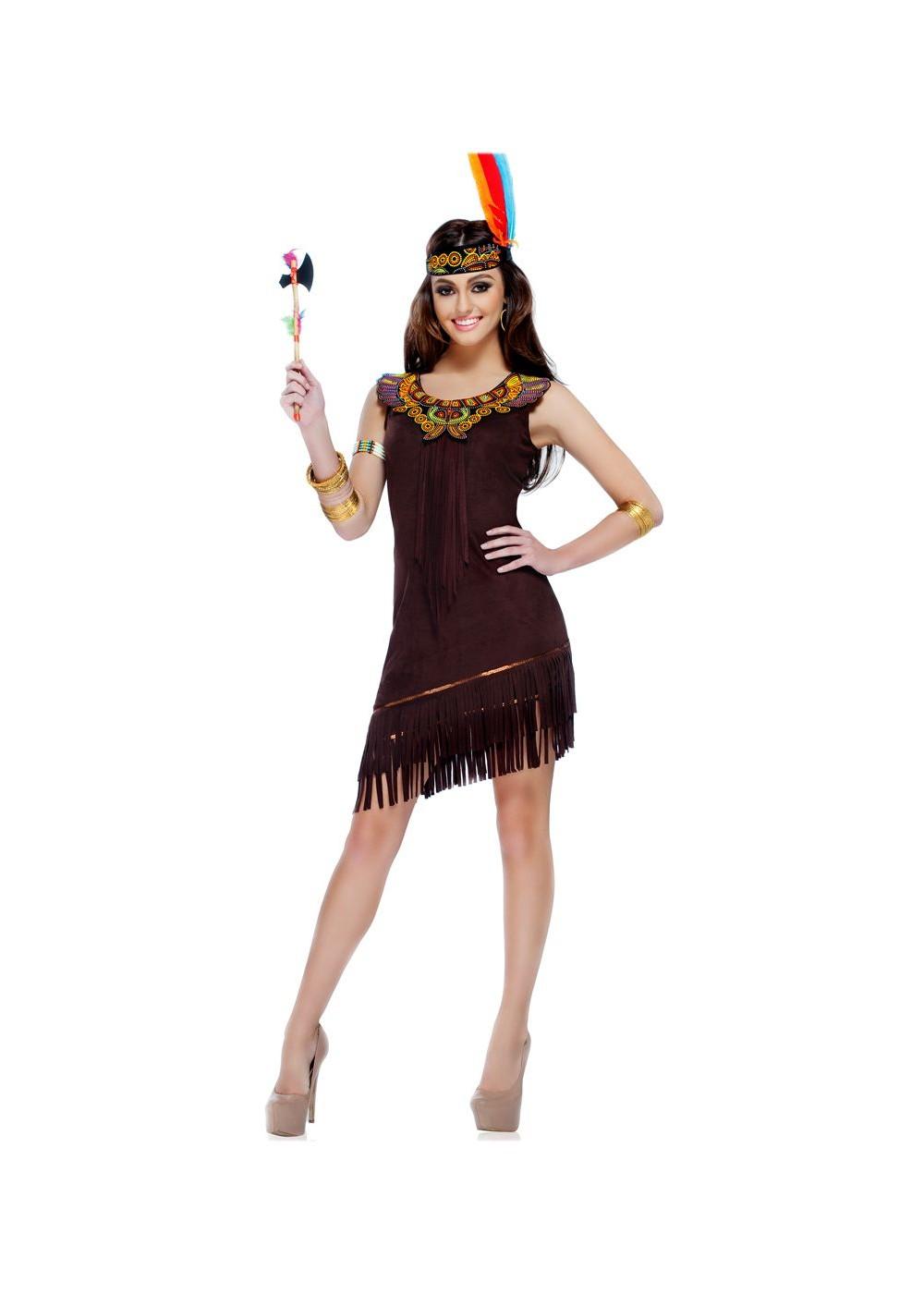 Native American Beauty Women Costume Indian Costumes