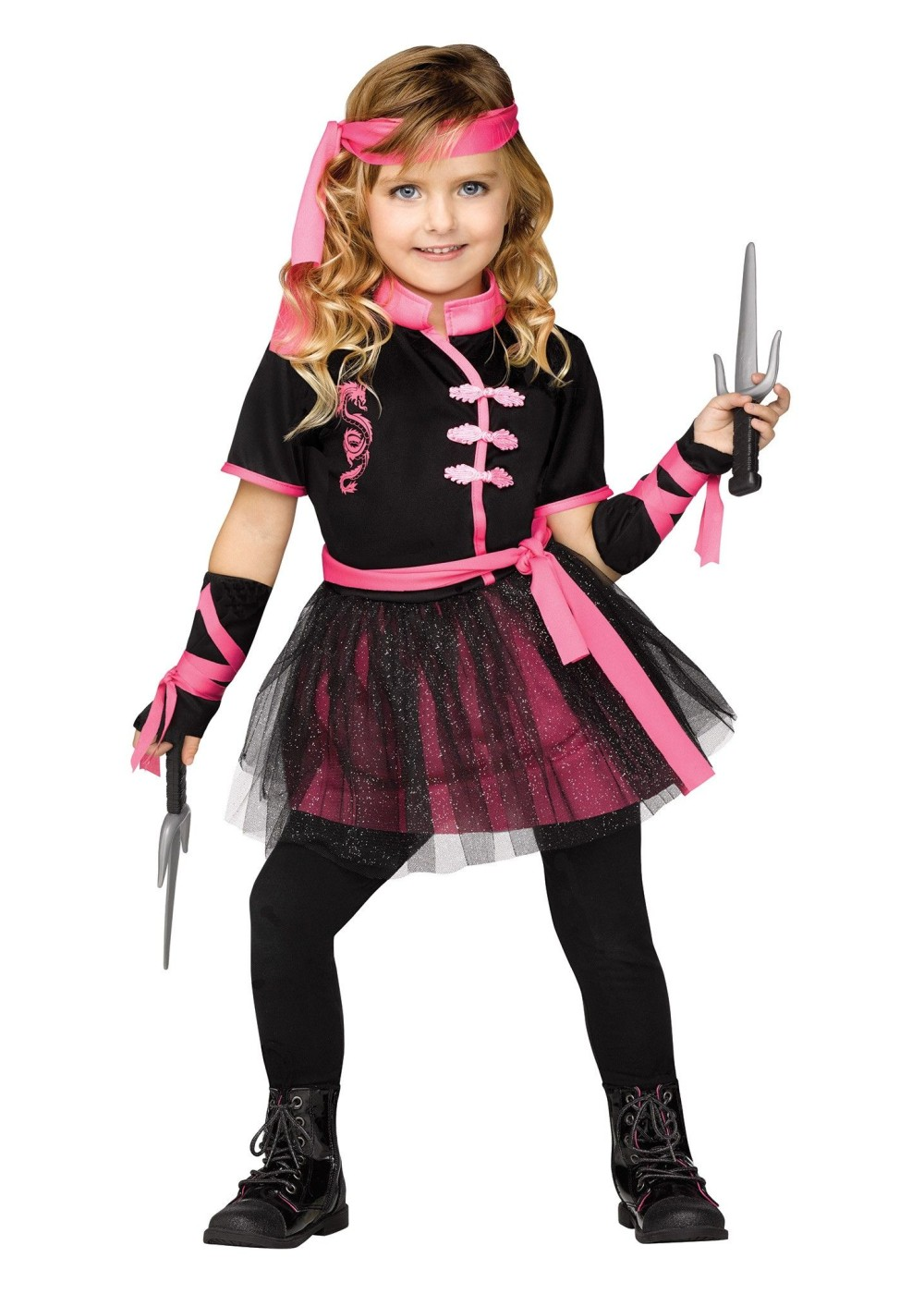 Ninja Miss Girls Costume - Ninja Costumes