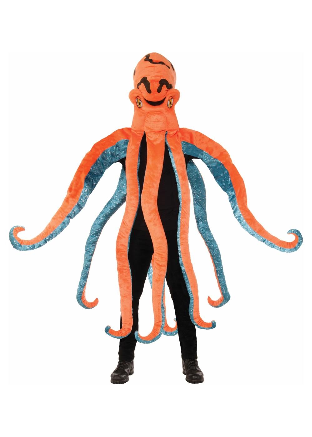 Octopus Mascot Costume - Mascot Costumes
