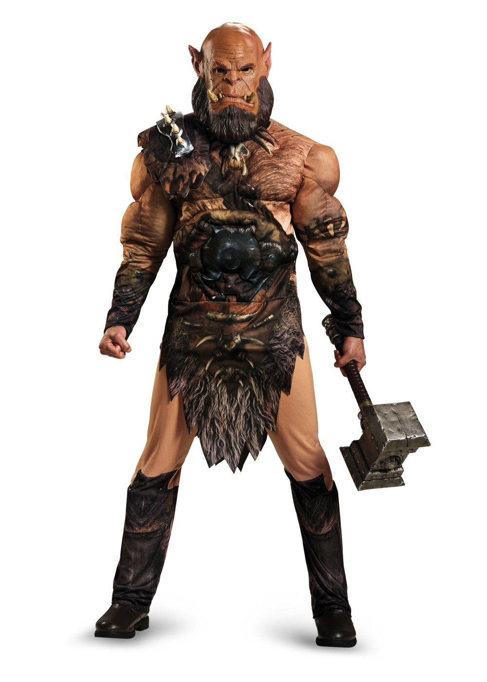 Warcraft costumes video game costume for kids adults world of warcraft orgrim teen adult muscle costume deluxe solutioingenieria Choice Image