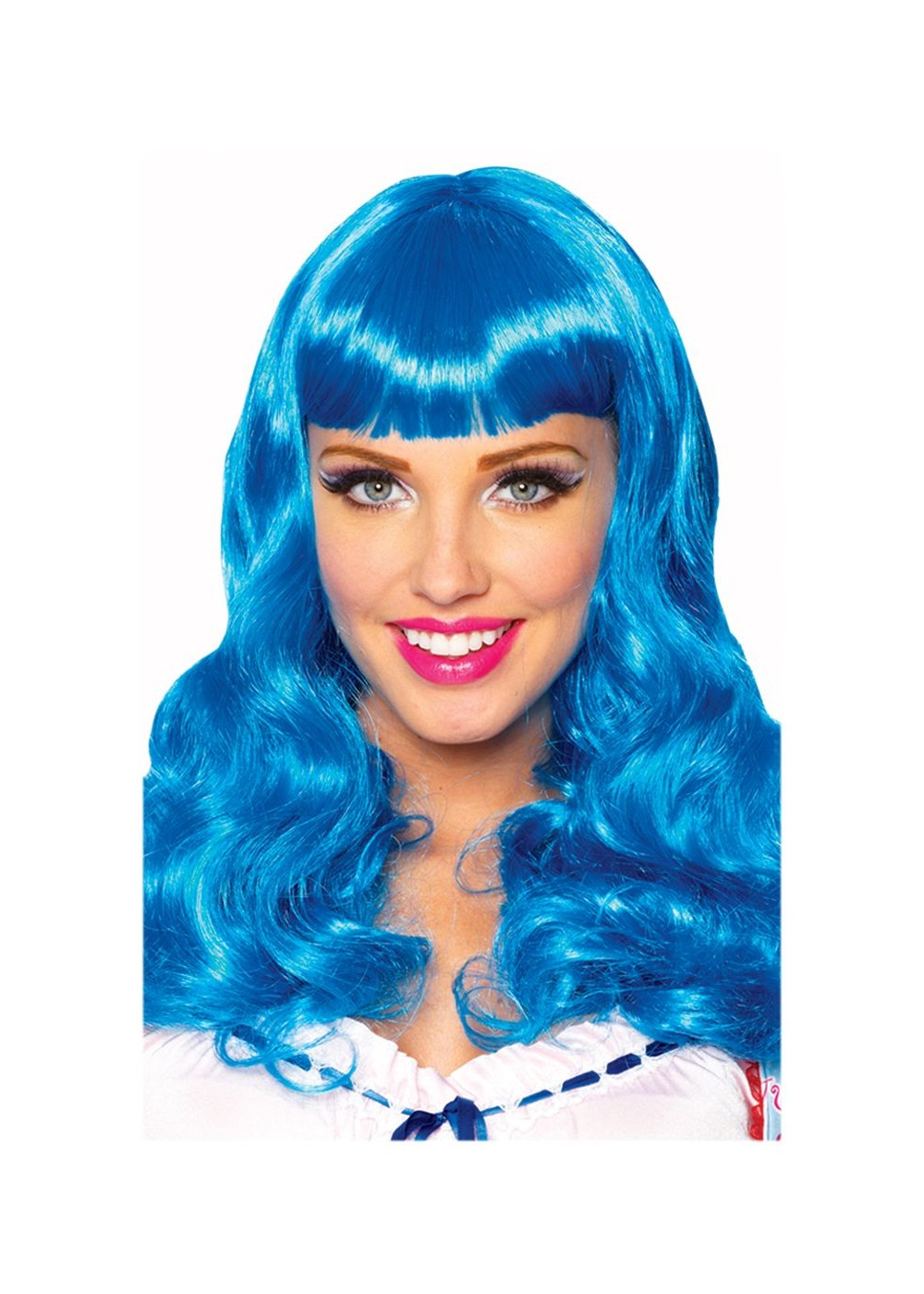 Party Girl Blue Wig Wigs
