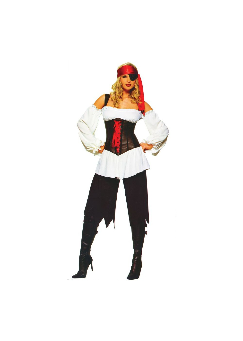 Sexy adult pirate costume