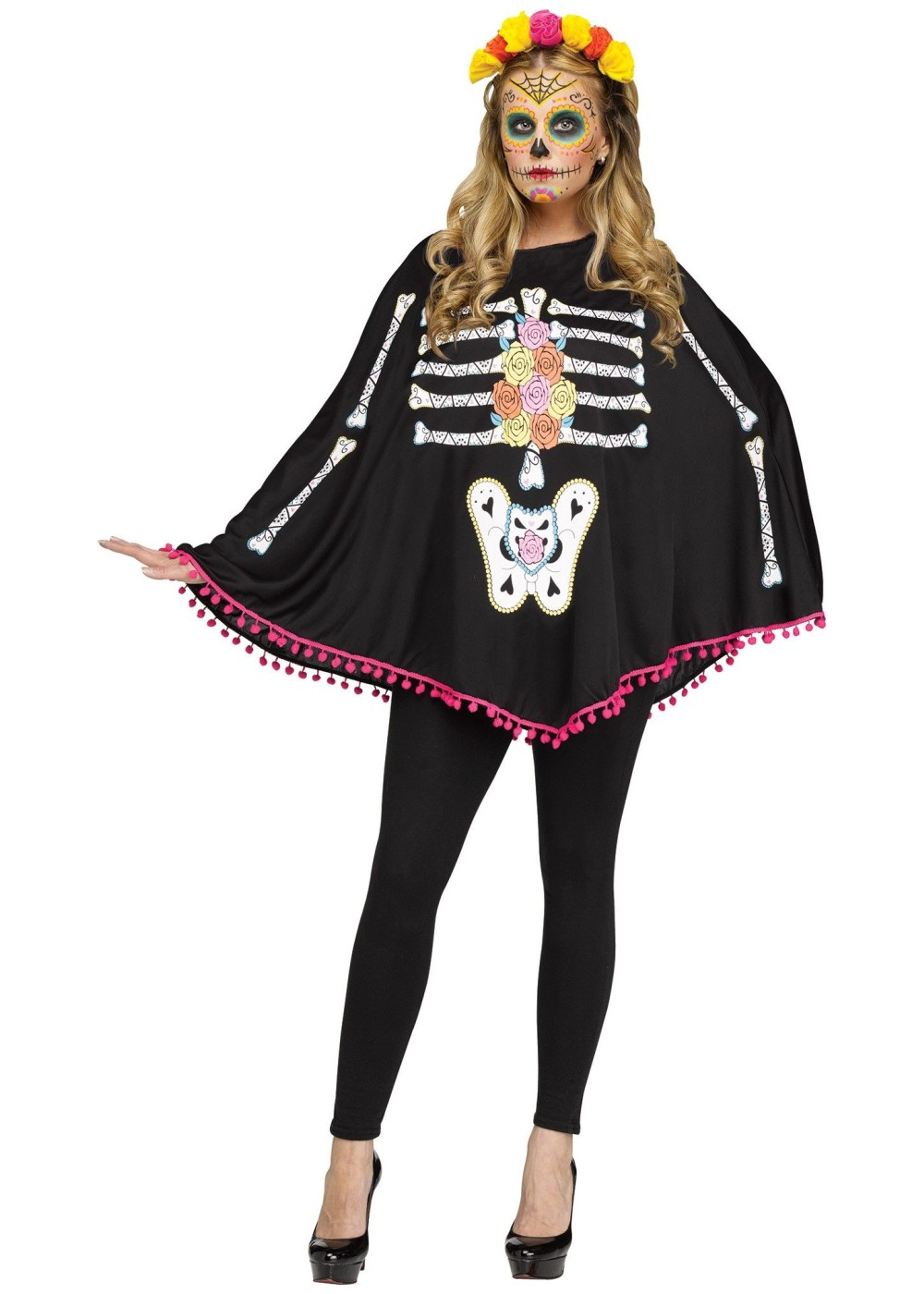 Poncho Dead Women Costume - Holiday Costumes