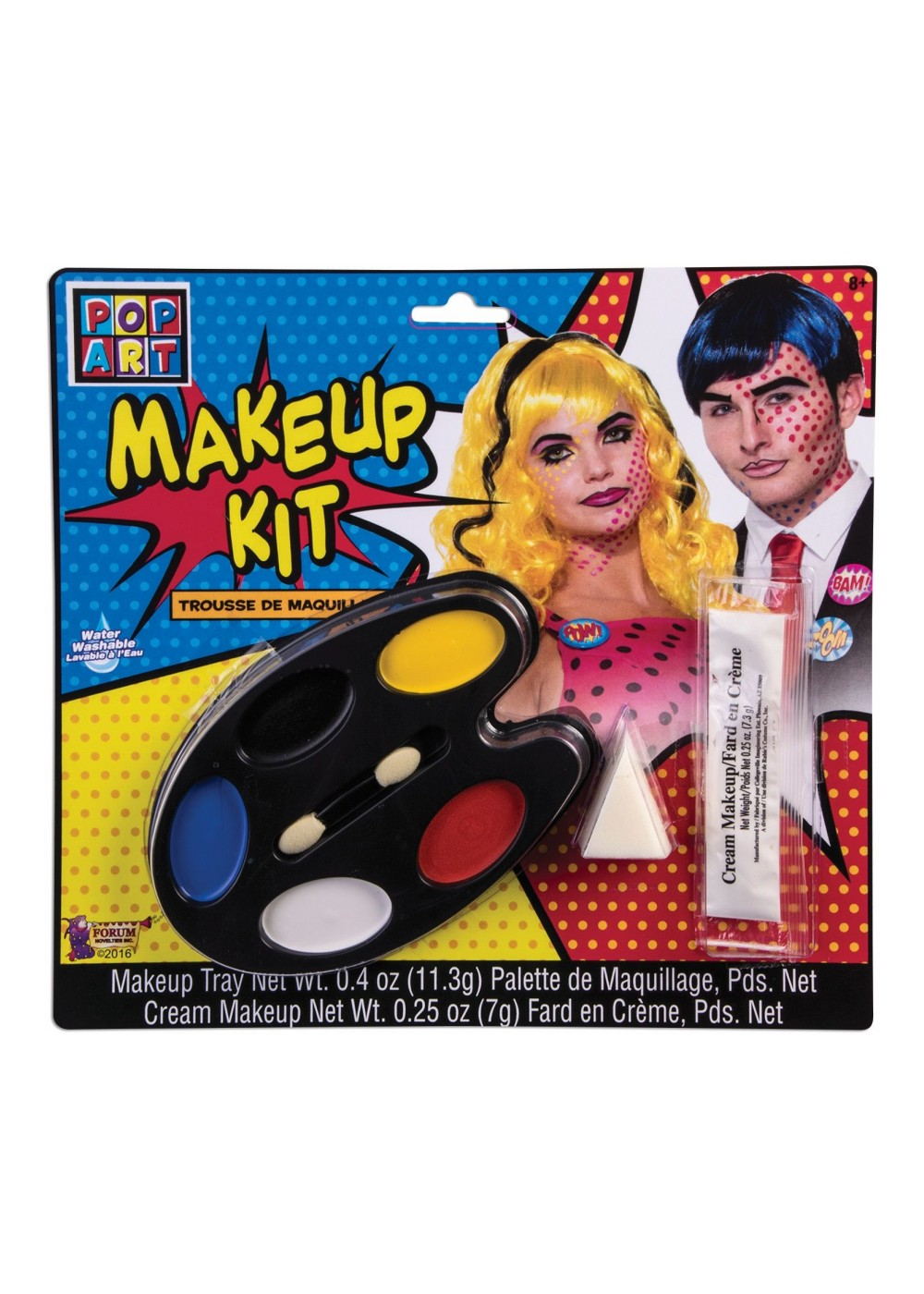Pop Art Makeup Kit Accessories