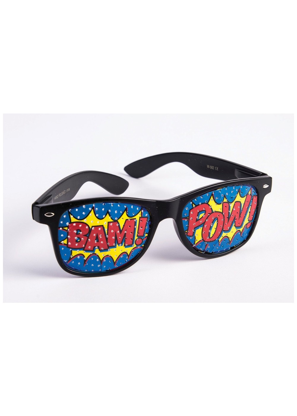 pop art pow screened sunglasses accessories