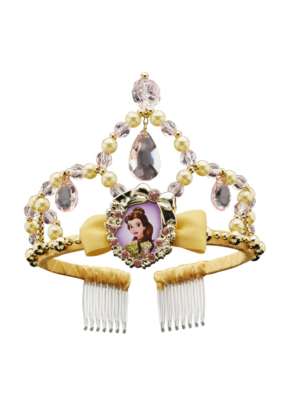 Kids Princess Disney Belle Classic Girls Tiara