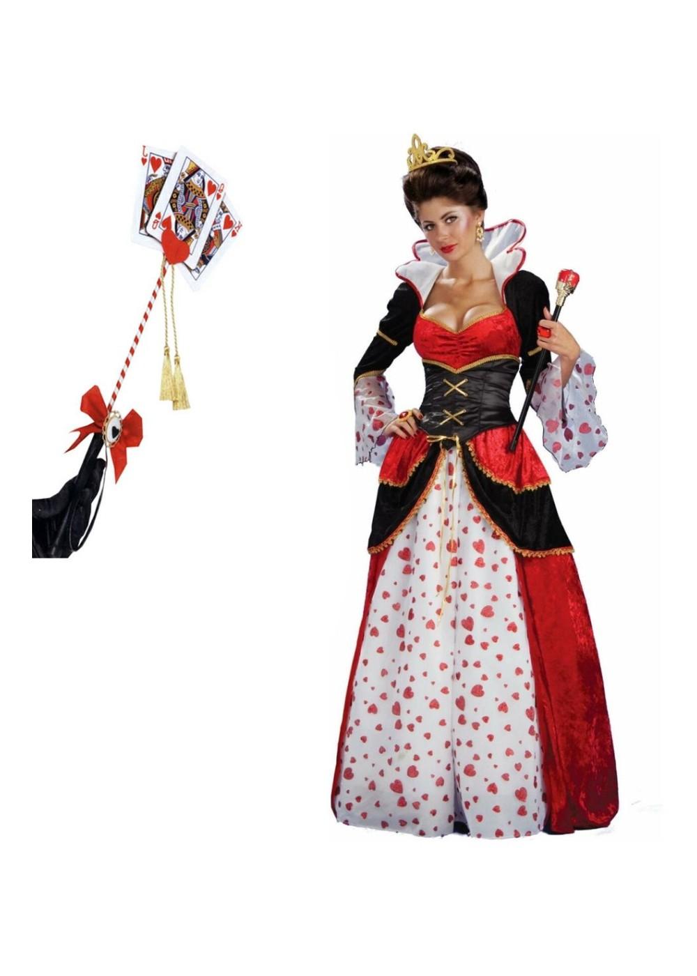 Queen Costume Adult Queen of Hearts ...