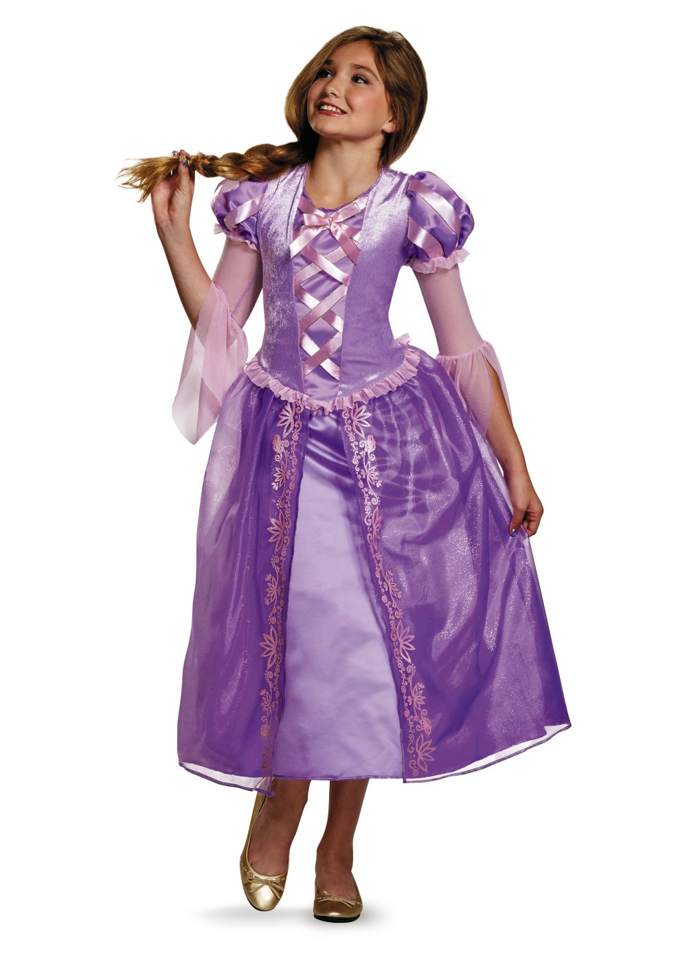 rapunzel girls teen costume disney costumes. Black Bedroom Furniture Sets. Home Design Ideas