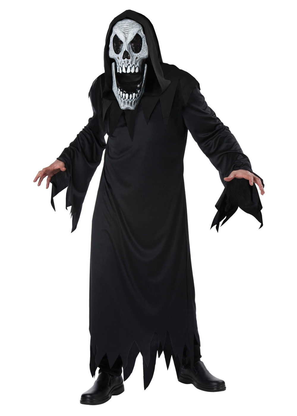 reaper elongated faces men costume scary costumes. Black Bedroom Furniture Sets. Home Design Ideas