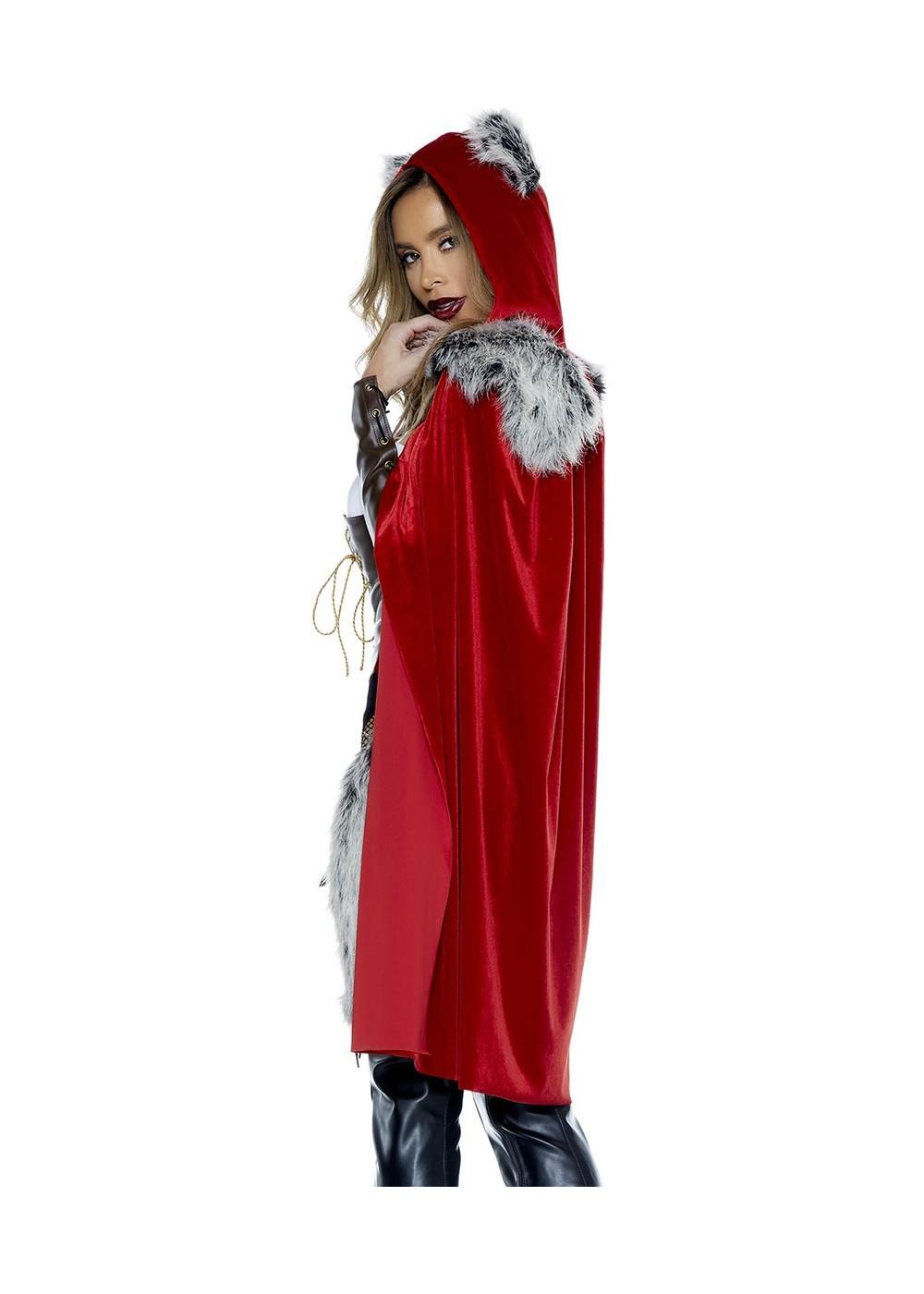 Halloween Makeup For Little Red Riding Hood