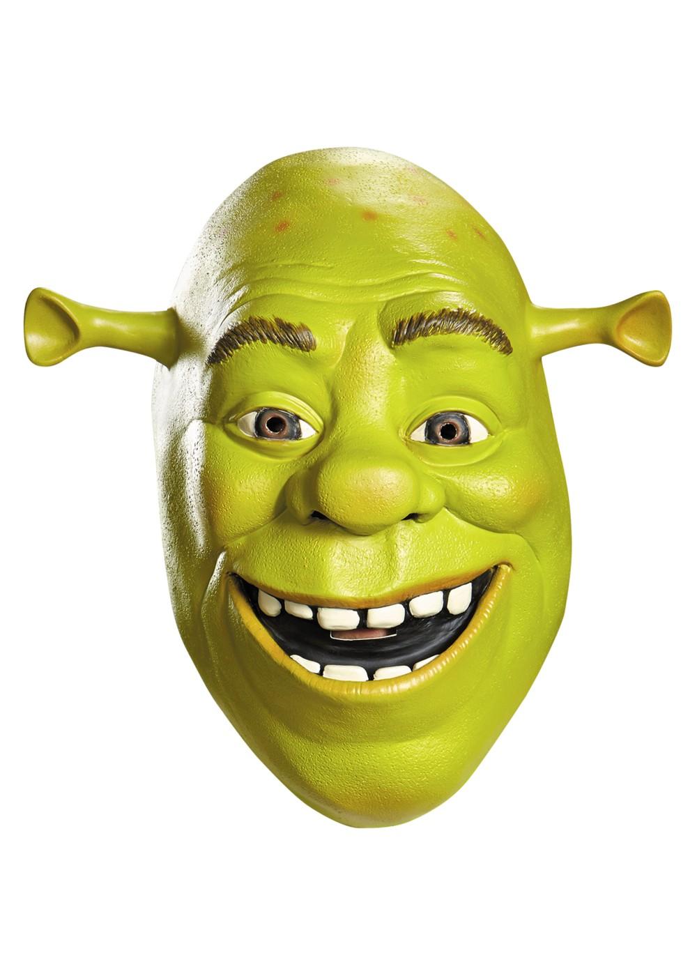 Shrek Latex Mask Masks