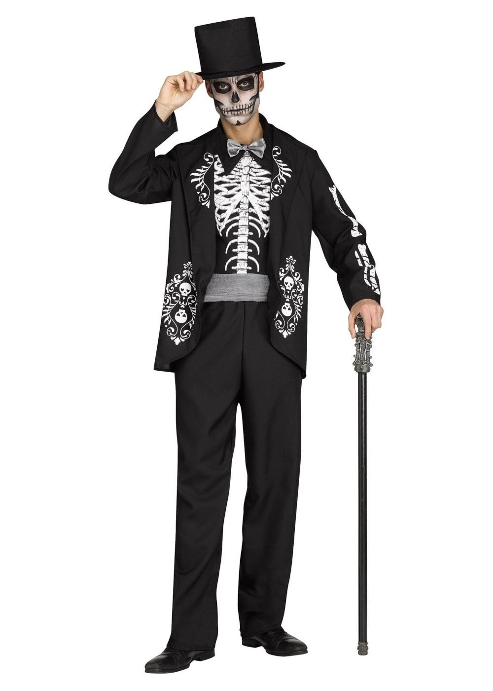 Halloween costume teen skeleton dildo fucking machine - 3 9