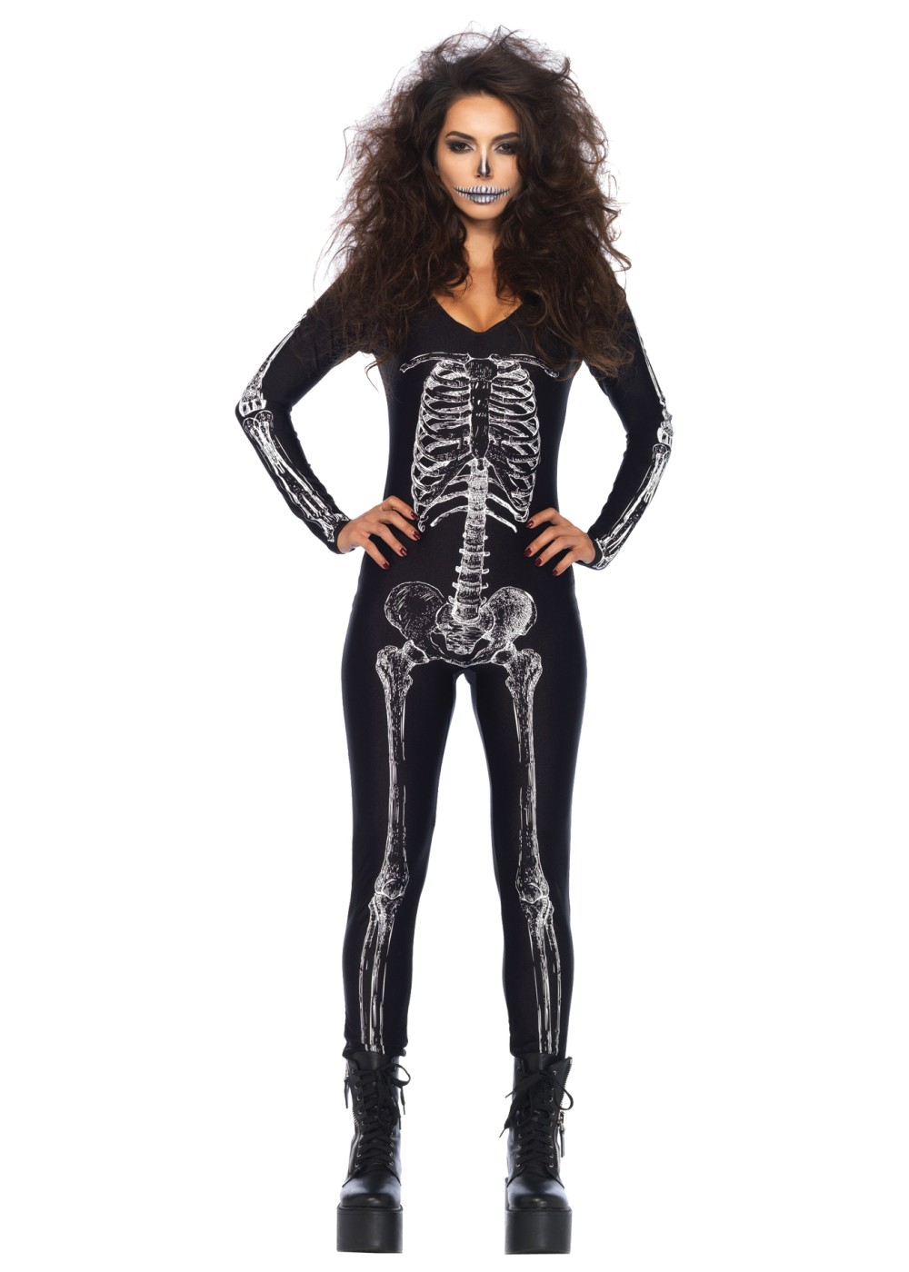 Skeleton Unitard X