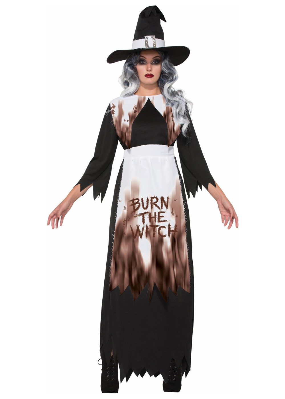 Smokin Salem Witch Costume  sc 1 st  Wonder Costumes & Witch Costumes | Halloween Witch Dresses for All Ages