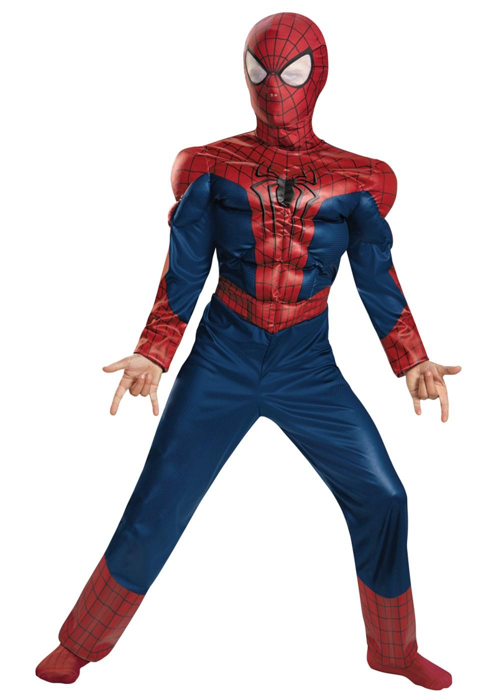 spiderman avengers boys costume superhero costumes
