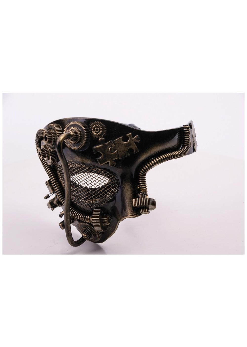 steampunk half mask masks