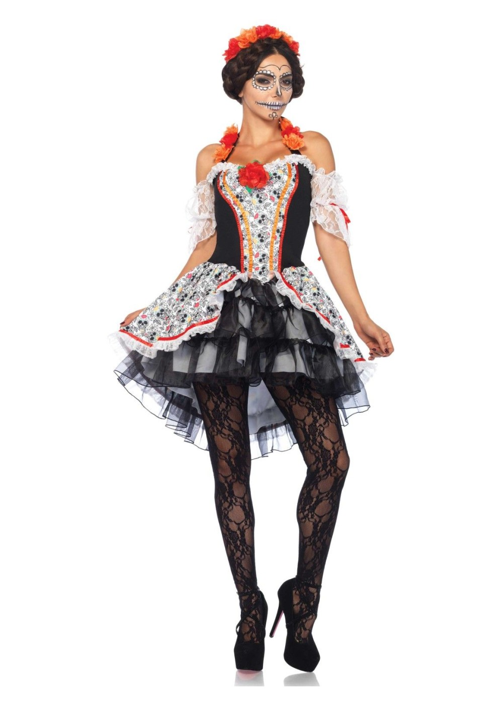 sugar skull senorita women costume holiday costumes