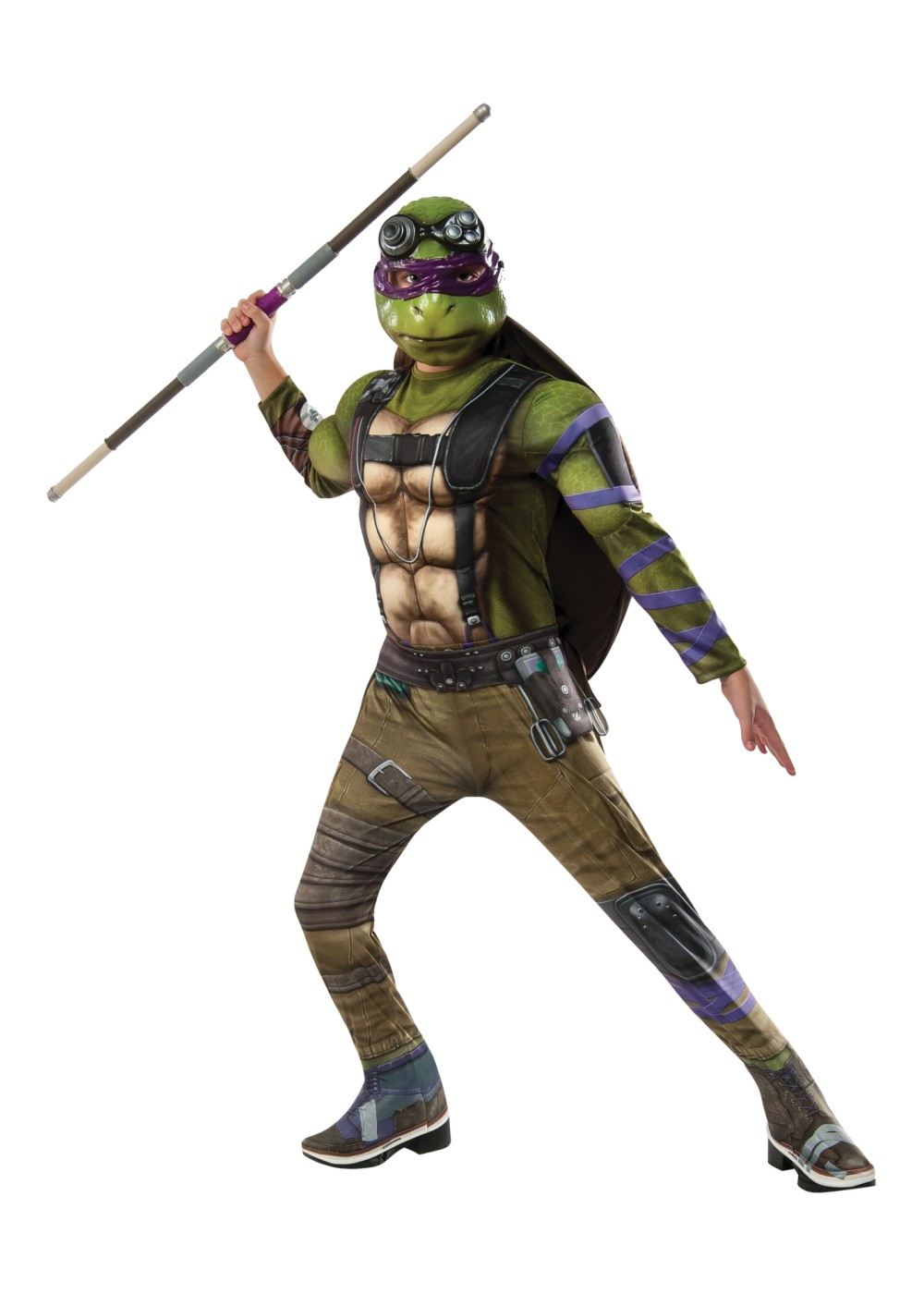 Teenage Mutant Ninja Turtles 2 Donatello Boys Costume ...