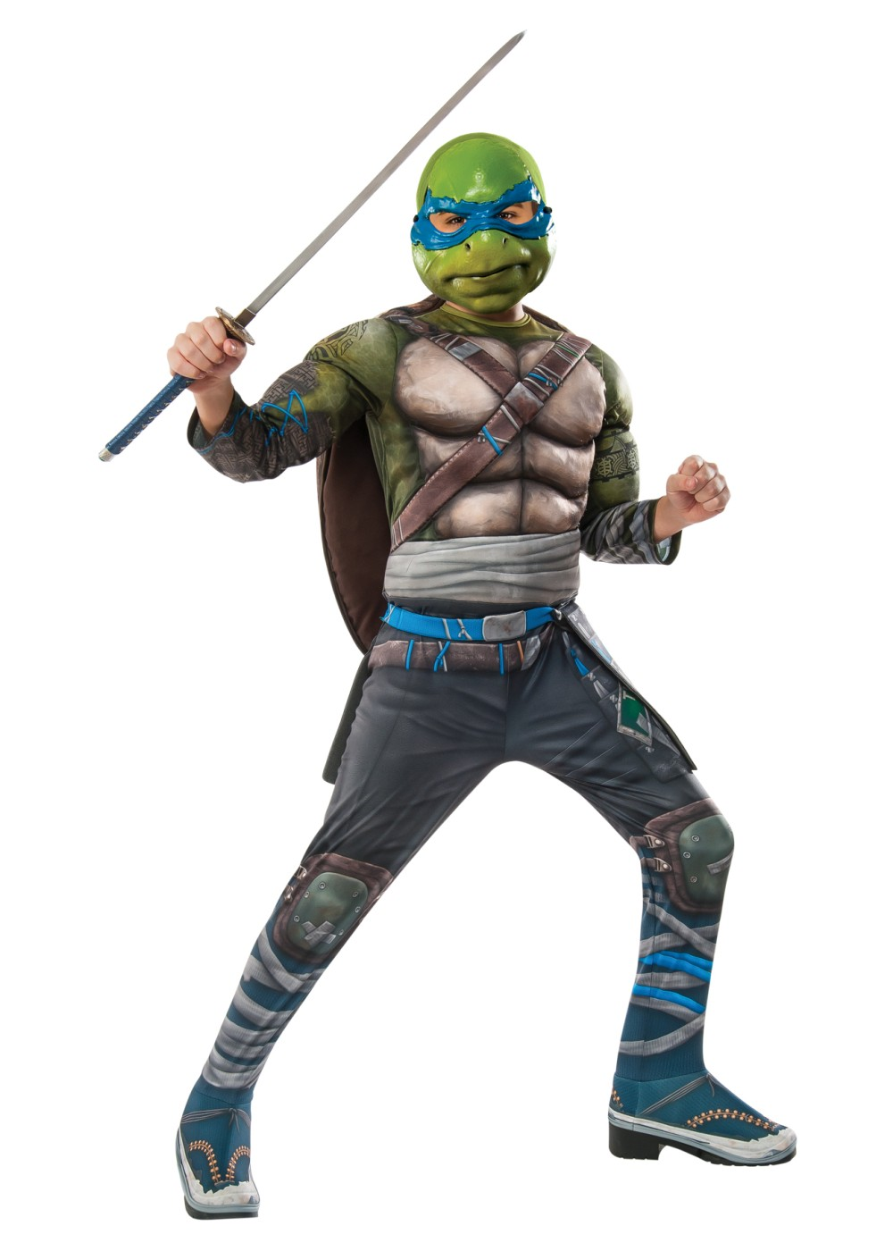 Teenage Mutant Ninja Turtles 2 Leonardo Boys Costume Superhero Costumes