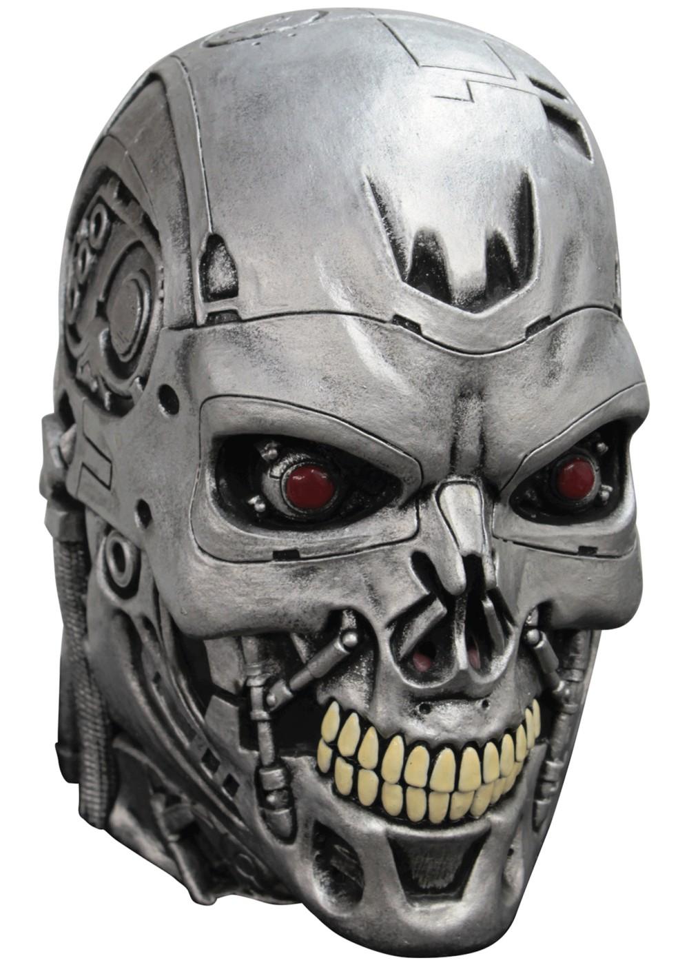 Terminator Endoskull Mask Masks