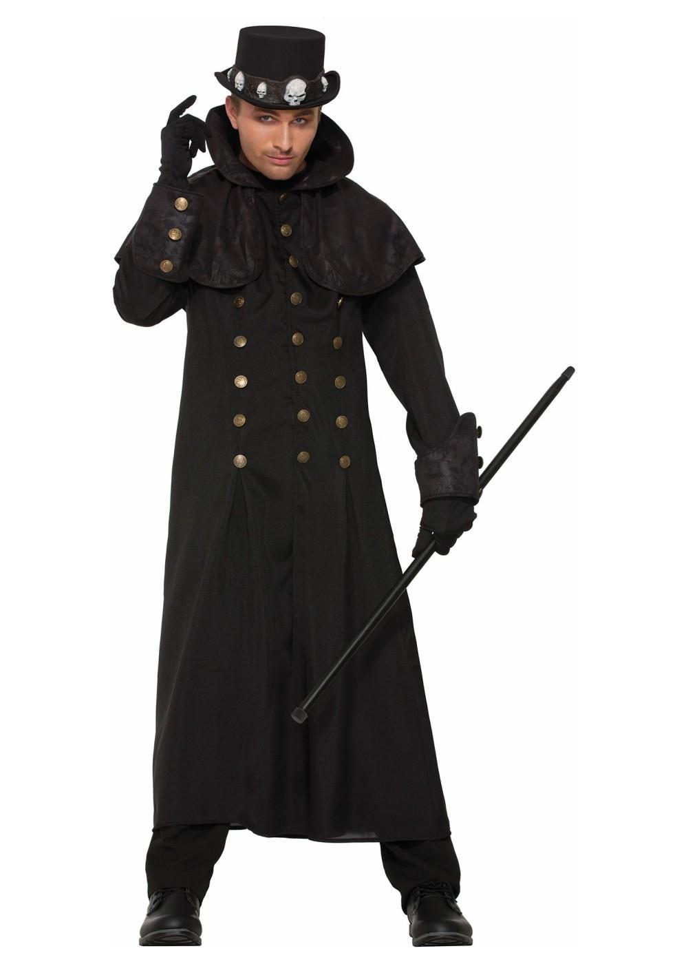 Warlock Coat Men Costume  sc 1 st  Halloween Costumes & Warlock Coat Men Costume - Scary Costumes