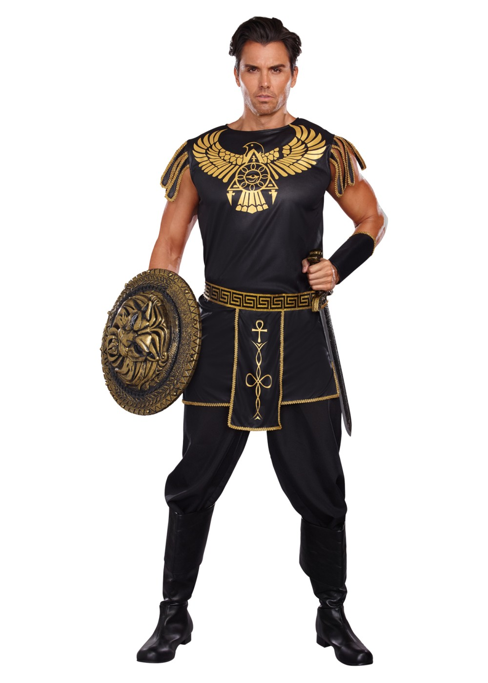 Egyptian Clothing. Egypt has hot and dry weather because so much of it is a desert. The ancient Egyptians had to have clothing that was not too hot and allowed free flowing air to cool their bodies.