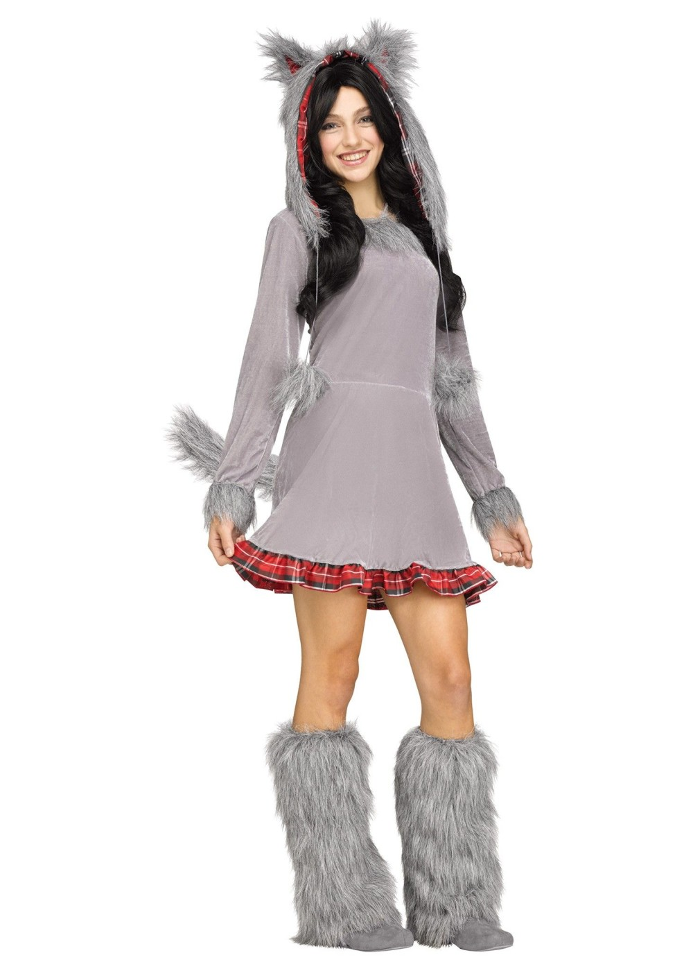 how to make a wolf costume