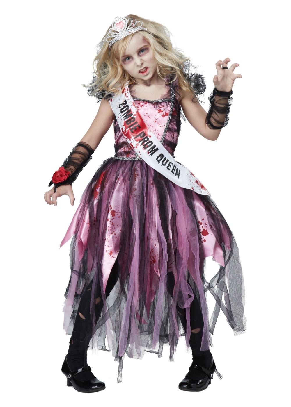 Zombie Prom Girls Costume
