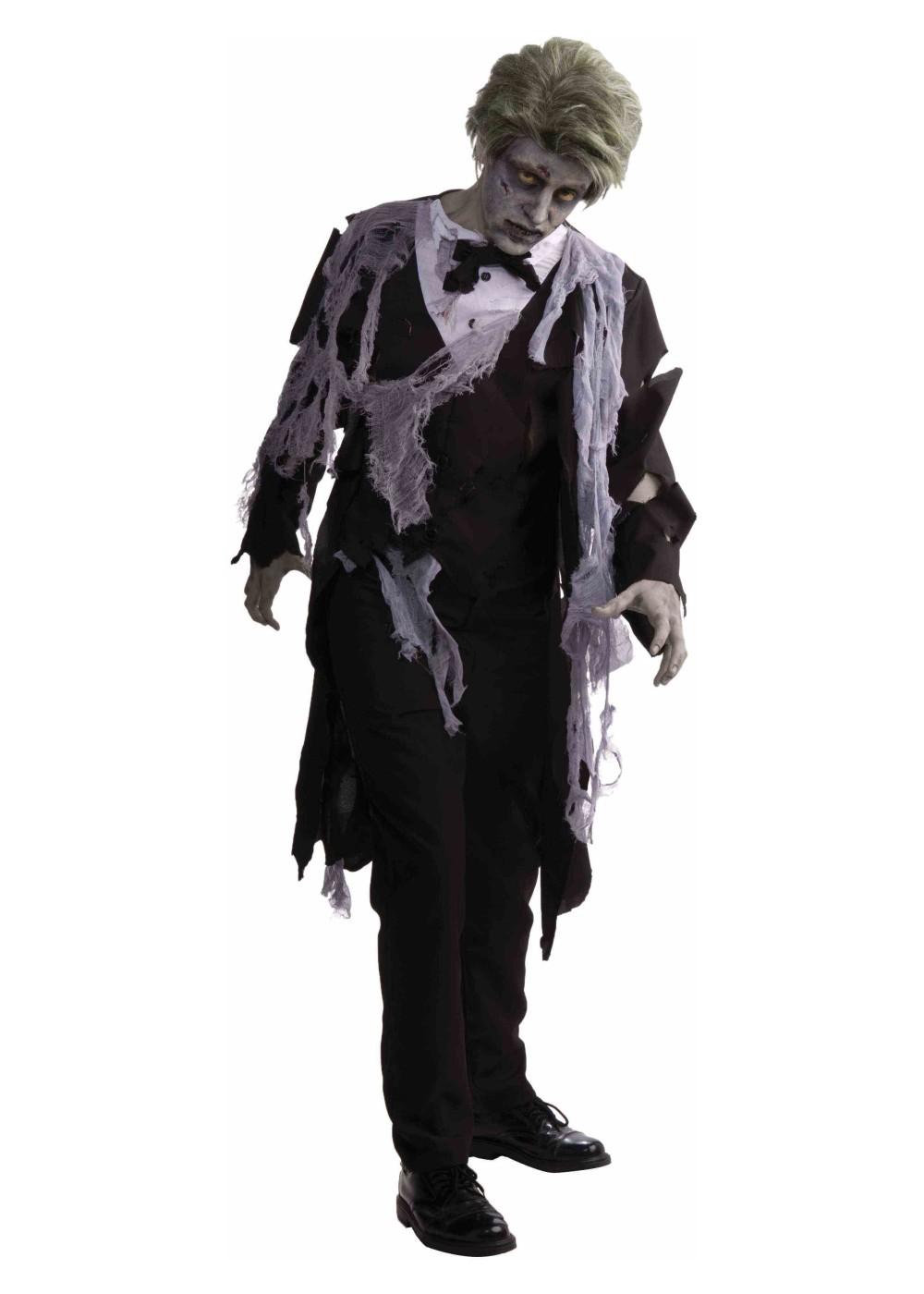 Zombie Tuxedo Men Costume Costumes