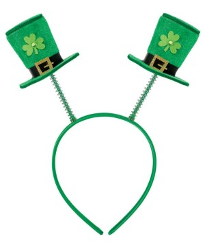 Adult Saint Patricks Day Boppers Headband