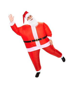 Adult Santa Inflatable Costume