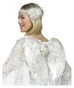 White Angel Women Costume Kit