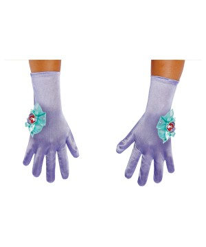 Ariel Girls Costume Gloves