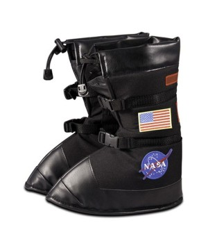 Astronaut Boys Costume Black Boots