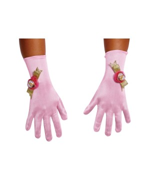Aurora Girls Costume Gloves