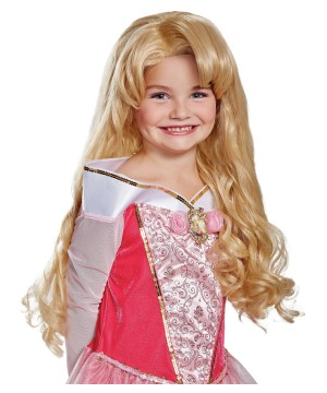 Aurora Girls Costume Wig