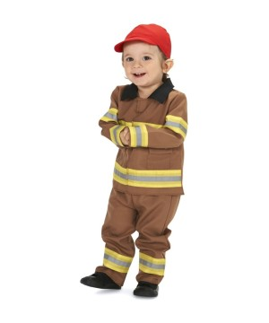 Baby Boys Firefighter Costume